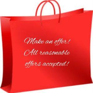Tops - Make An Offer! Closet Closeout!